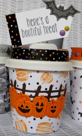 Little Paper Party, Mini Halloween Coffee Cup, close up4