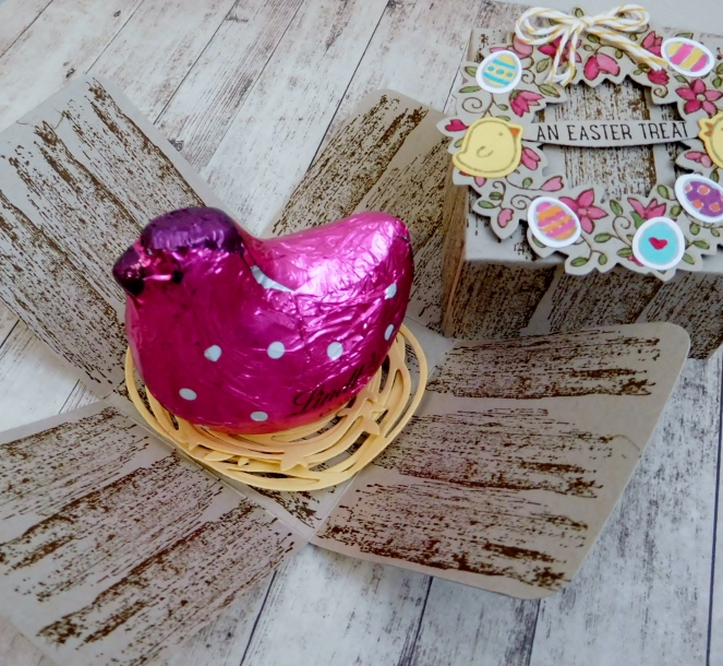 Little Paper Party, Basket Bunch Bundle, Circle of Spring, Easter explosion box4