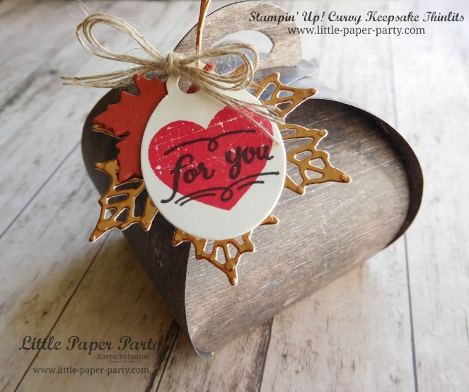 Little Paper Party, Curvy Keepsake Thinlits, Wood Textures DSP