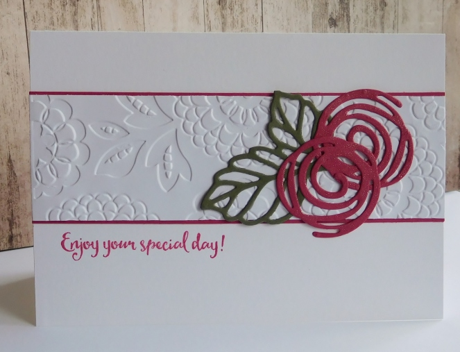 Little Paper Party, Swirly Scribbles, Rose Garden Thinlits, Dragonfly Dreams