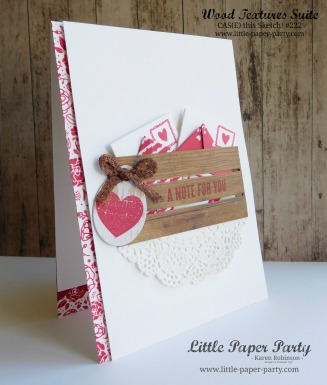 Little Paper Party, Wood Words, Wood Crate Framelits, Love Notes Framelits, CTS#222, #2
