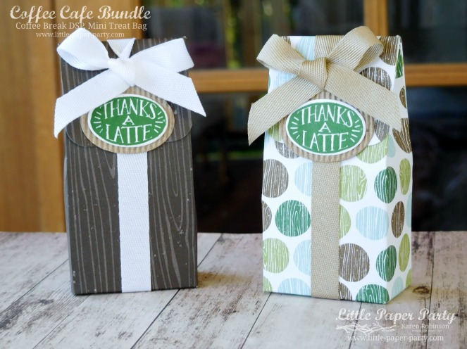 Little Paper Party, Coffee Cafe Bundle, Coffee Break DSP, Mini Treat Bag, #1.jpg