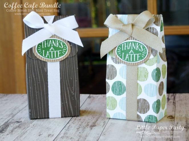 Little Paper Party, Coffee Cafe Bundle, Coffee Break DSP, Mini Treat Bag, #1.jpg