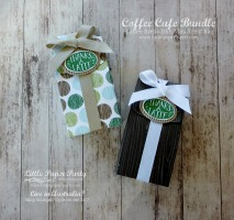 Little Paper Party, Coffee Cafe Bundle, Coffee Break DSP, Mini Treat Bag, #2