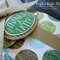 Coffee Break Mini Treat Bags