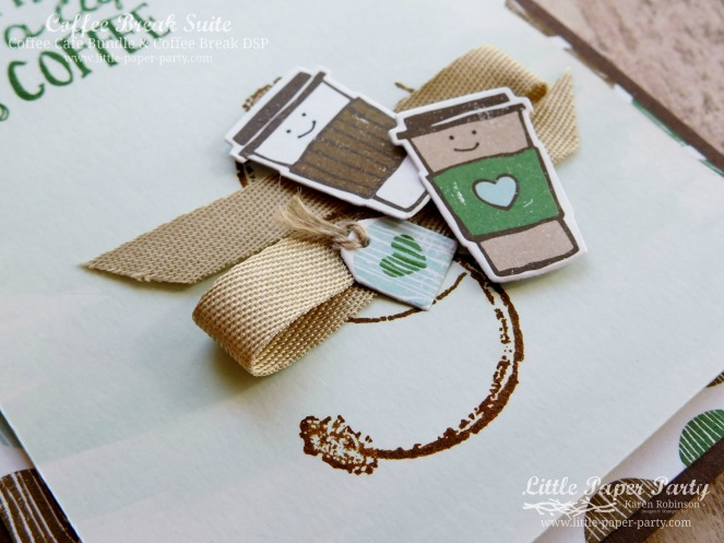 Little Paper Party, Coffee Cafe Bundle, Timeless Textures, #3
