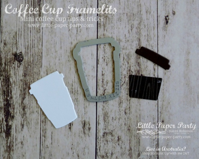 Little Paper Party, Coffee Cup Framelits, Sprinkles of Life, Coffee Break DSP, #1