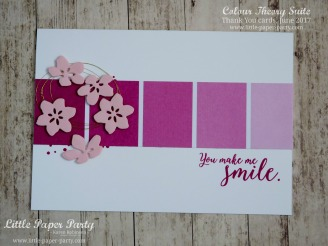 Little Paper Party, Colour Theory Bundle, Thank You cards June 2017 #6