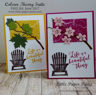 Little Paper Party, Colour Theory Suite, FREE Kit June 2017, #10