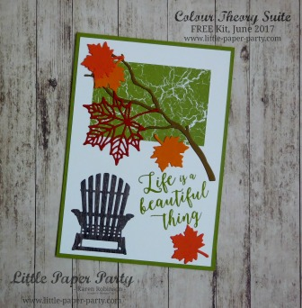 Little Paper Party, Colour Theory Suite, FREE Kit June 2017, #3