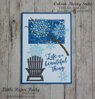 Little Paper Party, Colour Theory Suite, FREE Kit June 2017, #5