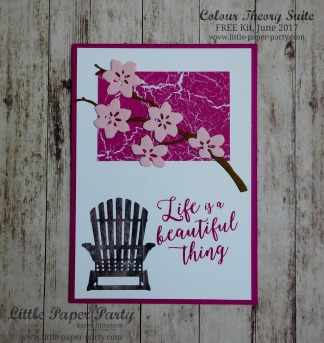 Little Paper Party, Colour Theory Suite, FREE Kit June 2017, #7