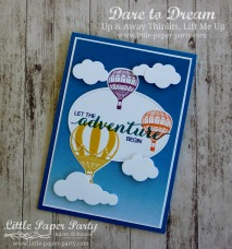 Little Paper Party, Dare to Dream, Lift Me Up, Up & Away Thinlits, #2