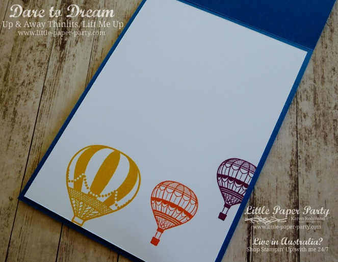 Little Paper Party, Dare to Dream, Lift Me Up, Up & Away Thinlits, #5