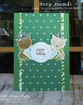 Little Paper Party, Foxy Friends, Label Me Pretty, Coffee Break DSP, #1