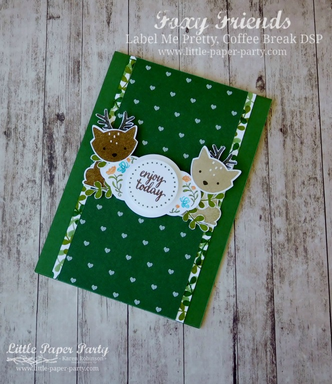 Little Paper Party, Foxy Friends, Label Me Pretty, Coffee Break DSP, #4