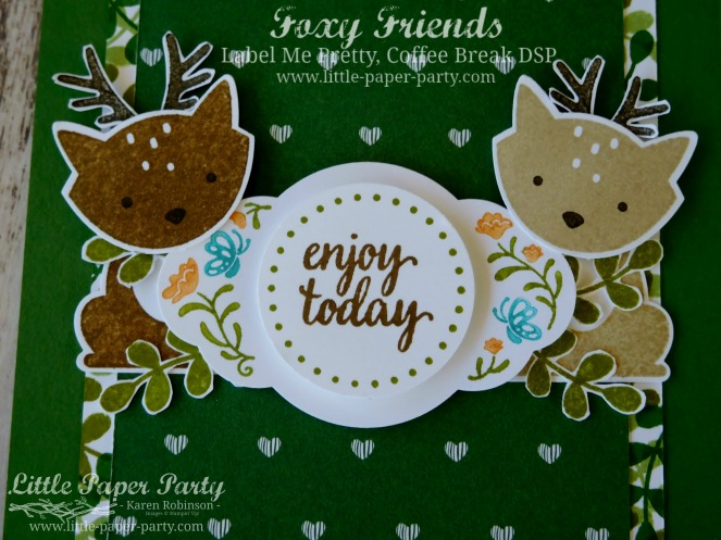 Little Paper Party, Foxy Friends, Label Me Pretty, Coffee Break DSP, #6