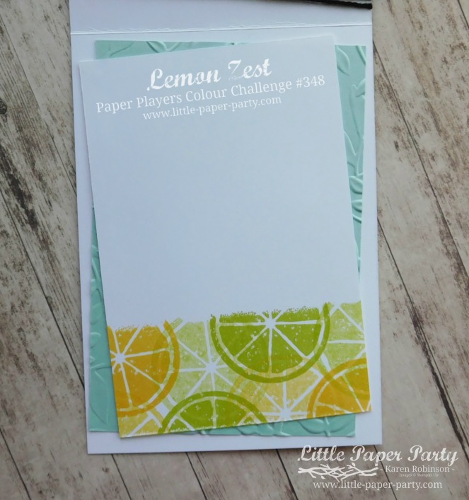 Little Paper Party, Lemon Zest, PP348, #3