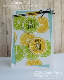 Little Paper Party, Lemon Zest, PP348, #5