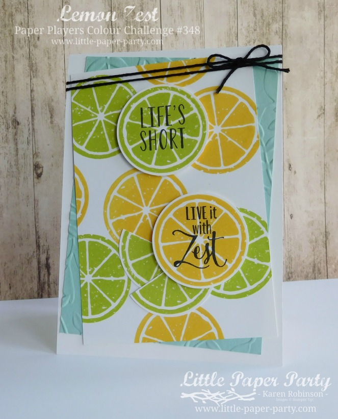 Little Paper Party, Lemon Zest, PP348, #5.jpg