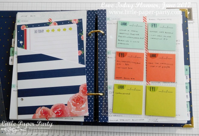 Little Paper Party, Love Today Planner, June 2017, #5