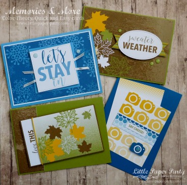 Little Paper Party, Memories & More, Color Theory, #1