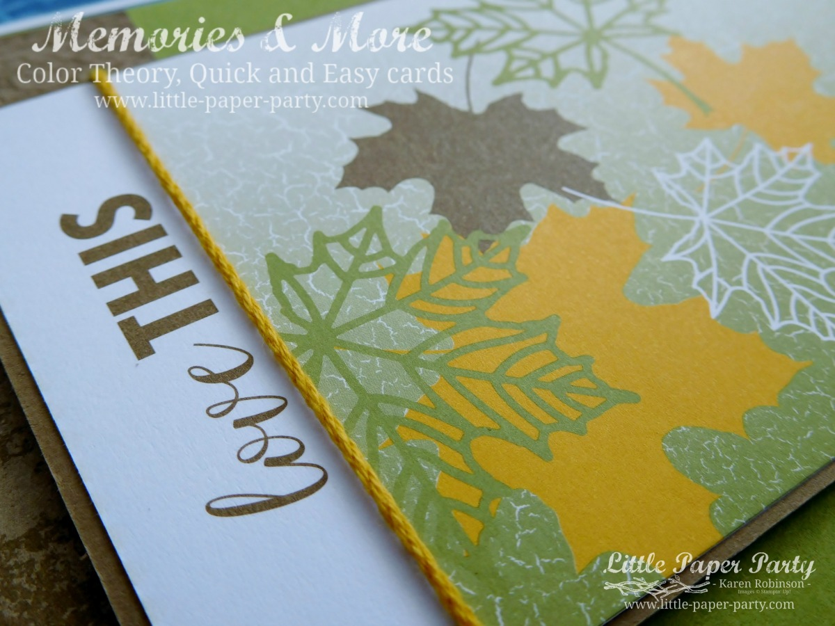 Memories & More = Quick & Easy cards