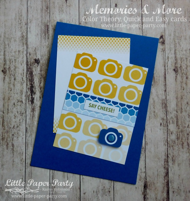 Little Paper Party, Memories & More, Color Theory, #4