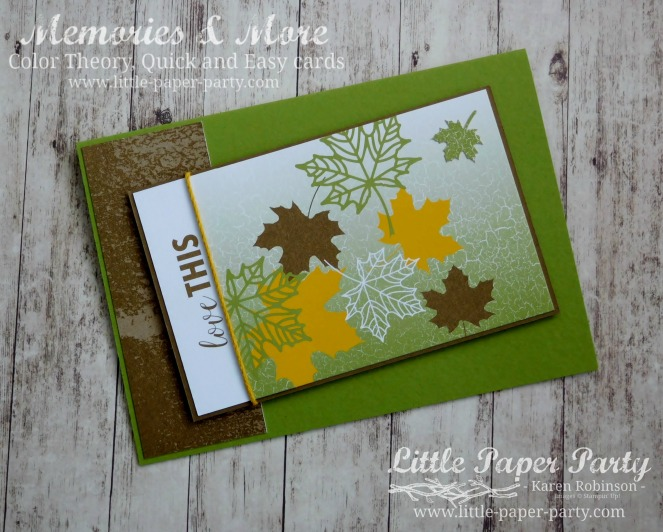 Little Paper Party, Memories & More, Color Theory, #5