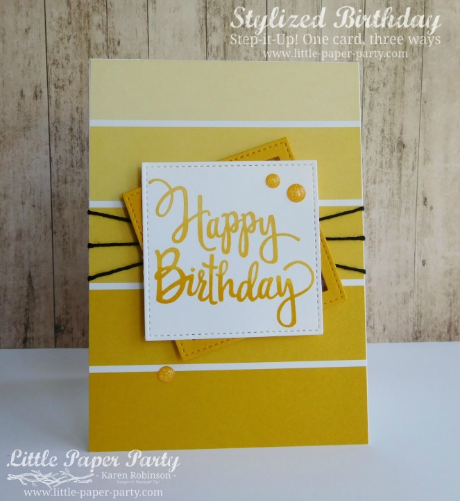 Little Paper Party, Stylized Birthday, Colour Theory DSP, Step It Up!, #1
