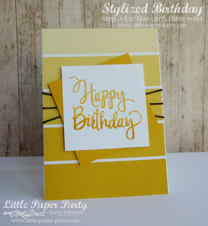 Little Paper Party, Stylized Birthday, Colour Theory DSP, Step It Up!, #2