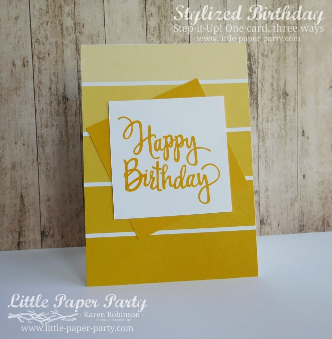 Little Paper Party, Stylized Birthday, Colour Theory DSP, Step It Up!, #3