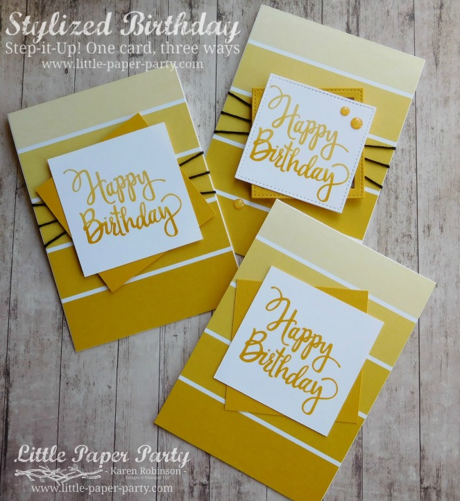 Little Paper Party, Stylized Birthday, Colour Theory DSP, Step It Up!, #4