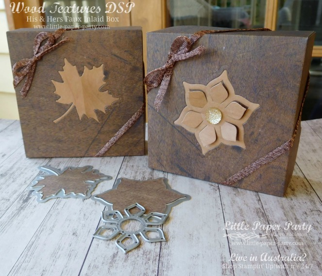 Little Paper Party, Wood Textures DSP, Seasonal Layers & Eastern Medallion Thinlits, 3D, #2