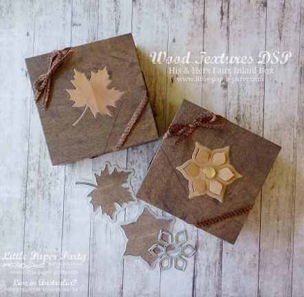 Little Paper Party, Wood Textures DSP, Seasonal Layers & Eastern Medallion Thinlits, 3D, #3