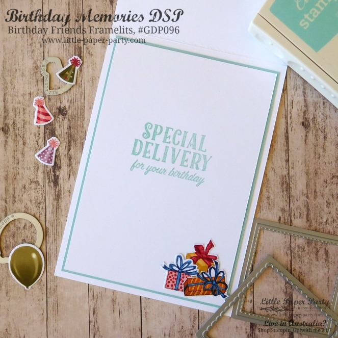 Little Paper Party, Birthday Delivery Bundle, Tabs for Everything, #GDP096, #2