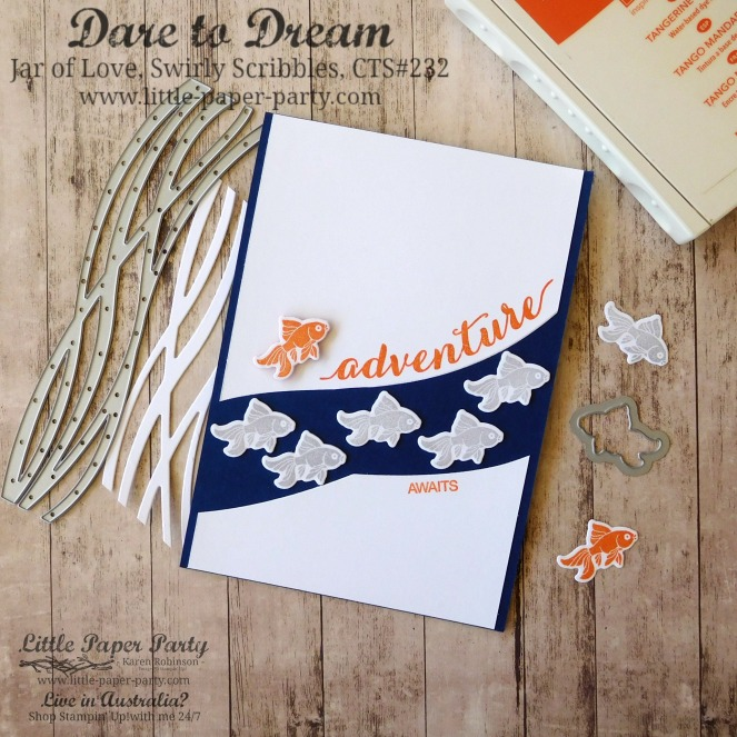Little Paper Party, Dare to Dream, Jar of Love, Swirly Scribbles Thinlits, CTS#232, #1