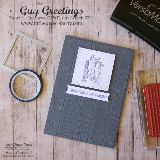 Little Paper Party, Guy Greetings, Timeless Textures, CTS#231, #1.jpg