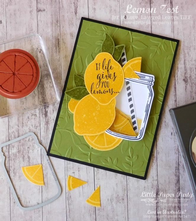 Little Paper Party, Lemon Zest, Jar of Love, #1.jpg