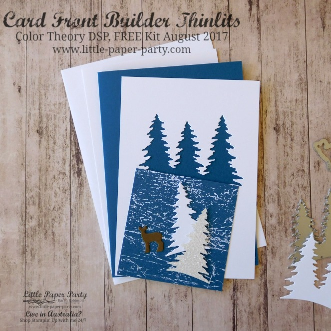 Little Paper Party, Card Front Builder Thinlits, Color Theory DSP, FREE Kit August 2017, #4.jpg