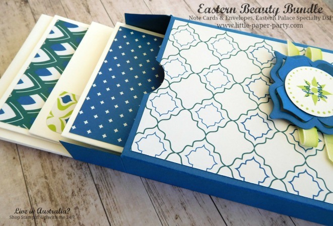 Little Paper Party, Eastern Beauty Bundle, Eastern Palace Specialty DSP, Note Cards & Envelopes, #7