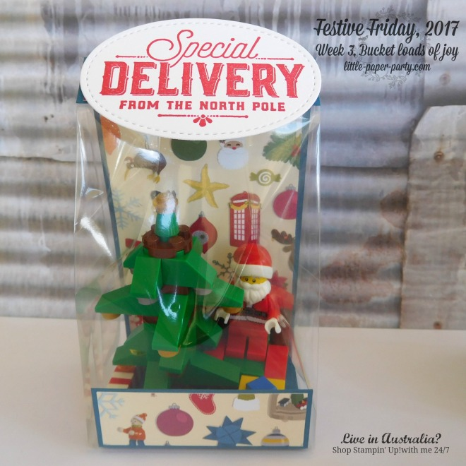 Little Paper Party, Festive Friday 2017, 3 x 6 Gusseted Bags, Fete and Fair Ideas, #5