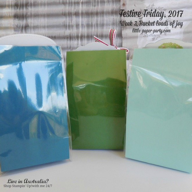 Little Paper Party, Festive Friday 2017, 3 x 6 Gusseted Bags, Fete and Fair Ideas, #6