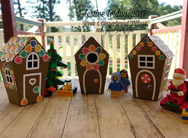 Little Paper Party, Festive Friday 2017, Home Sweet Home Thinlits, Sweet Home, #2