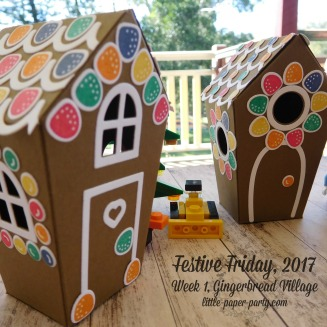Little Paper Party, Festive Friday 2017, Home Sweet Home Thinlits, Sweet Home, #3
