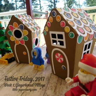 Little Paper Party, Festive Friday 2017, Home Sweet Home Thinlits, Sweet Home, #4