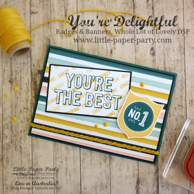 Little Paper Party, You're Delightful, Badges & Banners, #1.jpg