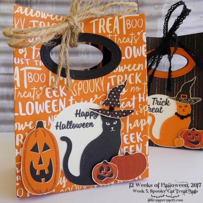 Little Paper Party, 12 Weeks of Halloween 2017, Spooky Cat Bundle, Spooky Night DSP, Gift Bag Punch Board, #5.jpg