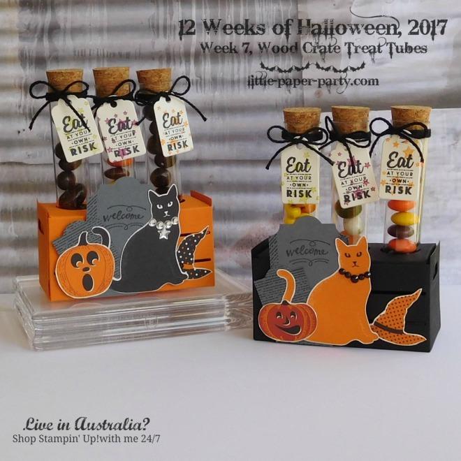 Little Paper Party, 12 Weeks of Halloween 2017, Spooky Cat Bundle, Wood Words Bundle, #1
