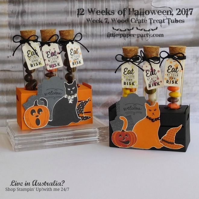 Little Paper Party, 12 Weeks of Halloween 2017, Spooky Cat Bundle, Wood Words Bundle, #1
